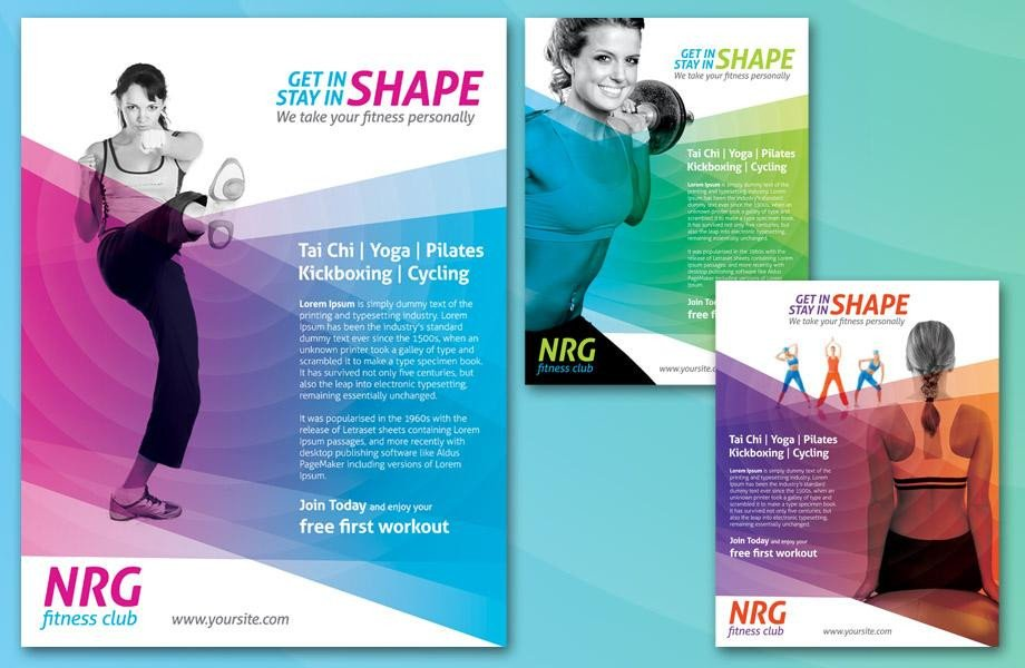 Fitness Flyer Template Free Fitness Flyers Fitness Flyer Templates and Printing