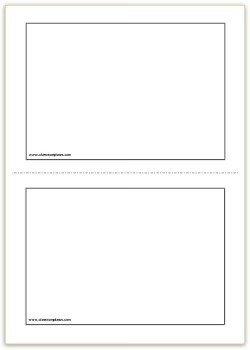Flash Card Template Word Flash Card Template