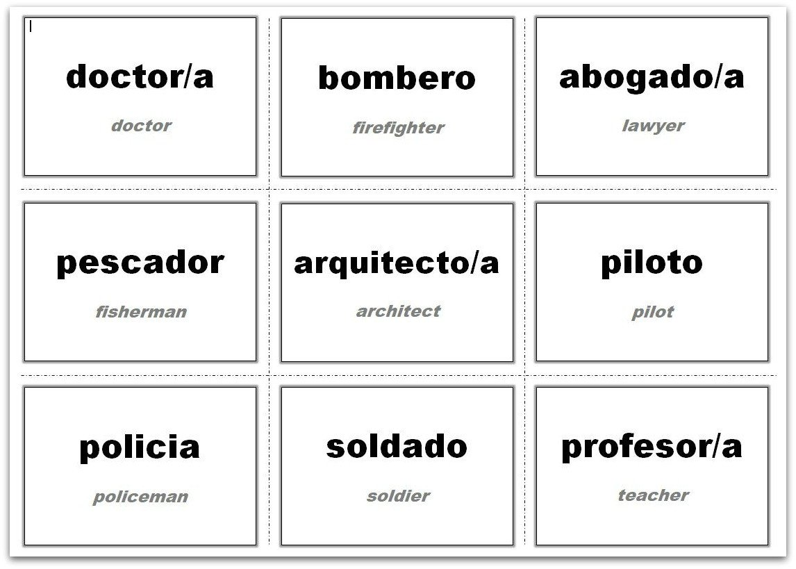 Flash Card Template Word Vocabulary Flash Cards Using Ms Word