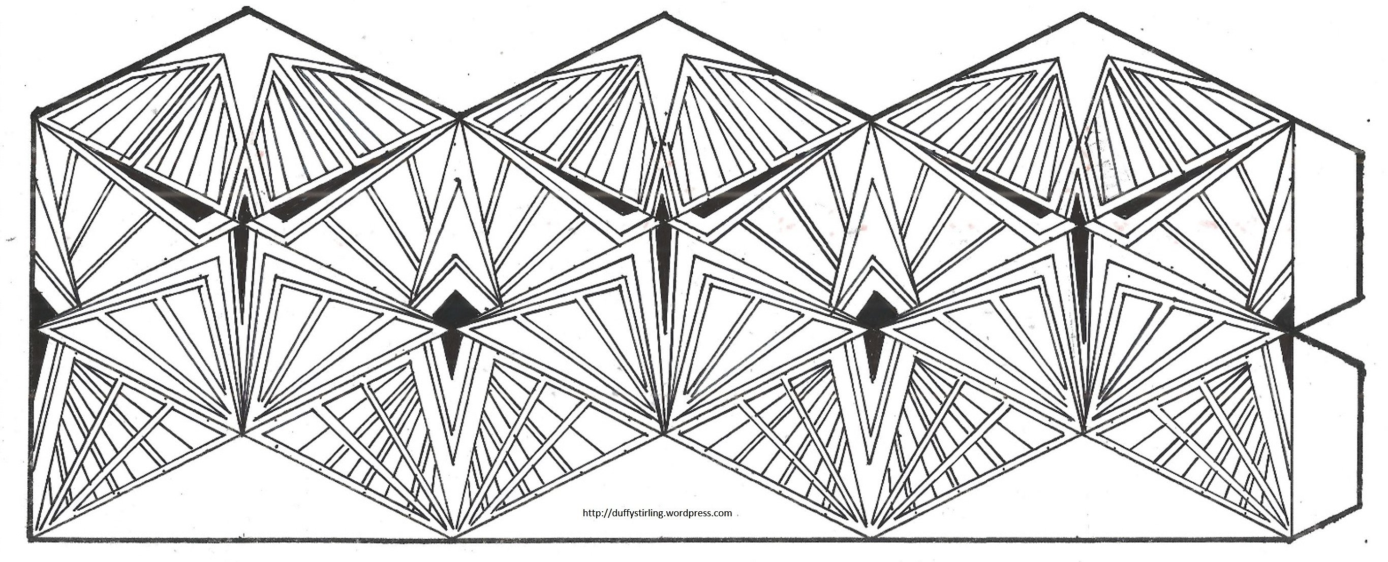 Flex Tangles Template 1000 Images About Kaleidocycle On Pinterest