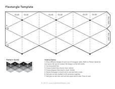 Flex Tangles Template Flextangle Template Printables & Template