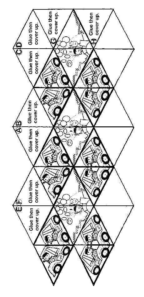 Flex Tangles Template Kaleidocycle Pattern Thanks Megan