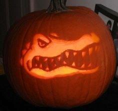 Florida Gator Pumpkin Stencil Carving 1000 Images About Jack O Lanterns On Pinterest