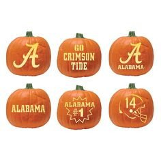 Florida Gator Pumpkin Stencil Carving 31 Best Crimson Tide Halloween Images On Pinterest