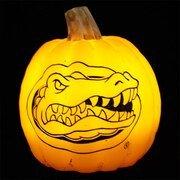 Florida Gator Pumpkin Stencil Carving Florida Gators Holiday Décor University Of Florida