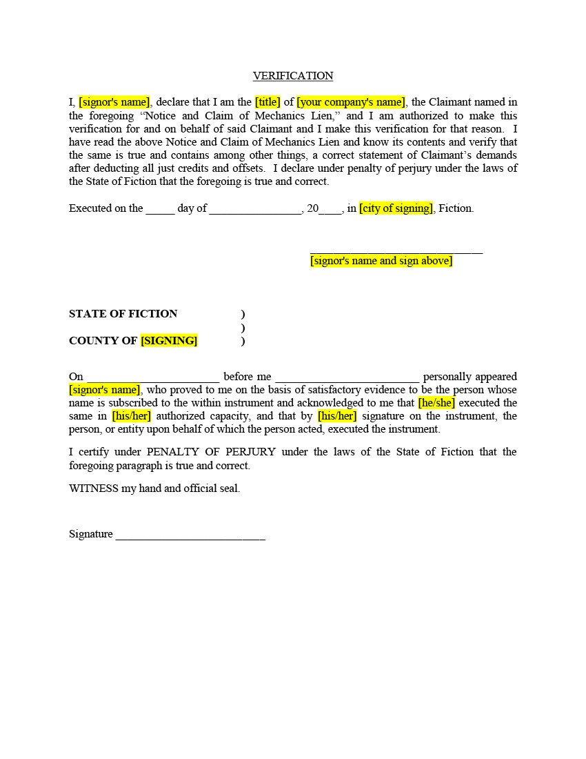 Florida Lien Release forms Texas Mechanic Lien Kit Filing & Release Of Lien forms