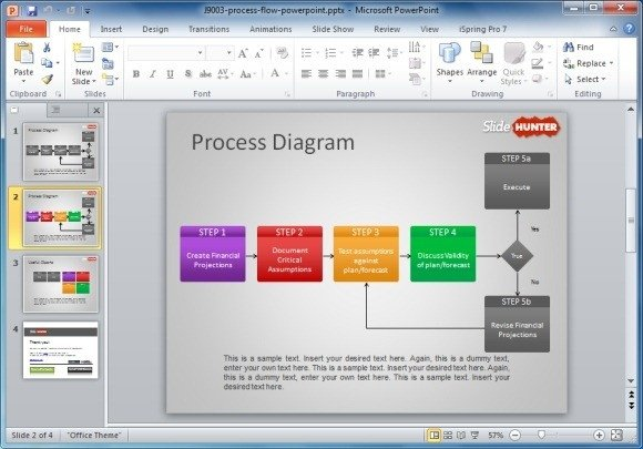 Flow Chart Template Powerpoint Free How to Make A Flowchart In Powerpoint