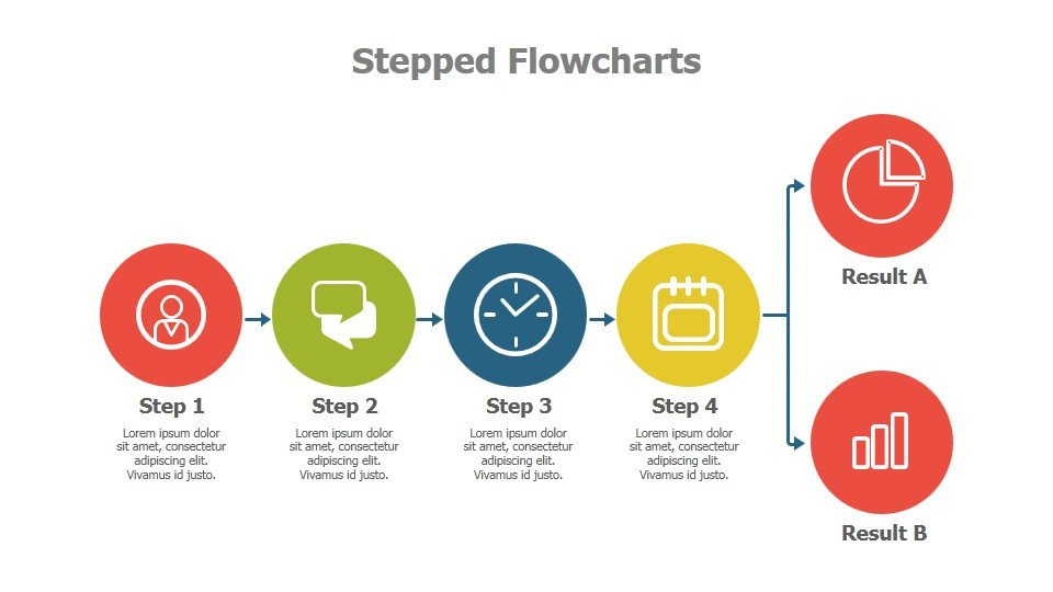 Flow Chart Template Powerpoint Free Powerpoint Flowchart Templates