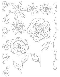Flower Patterns to Trace 1000 Images About Patterns to Draw Trace and Sew On