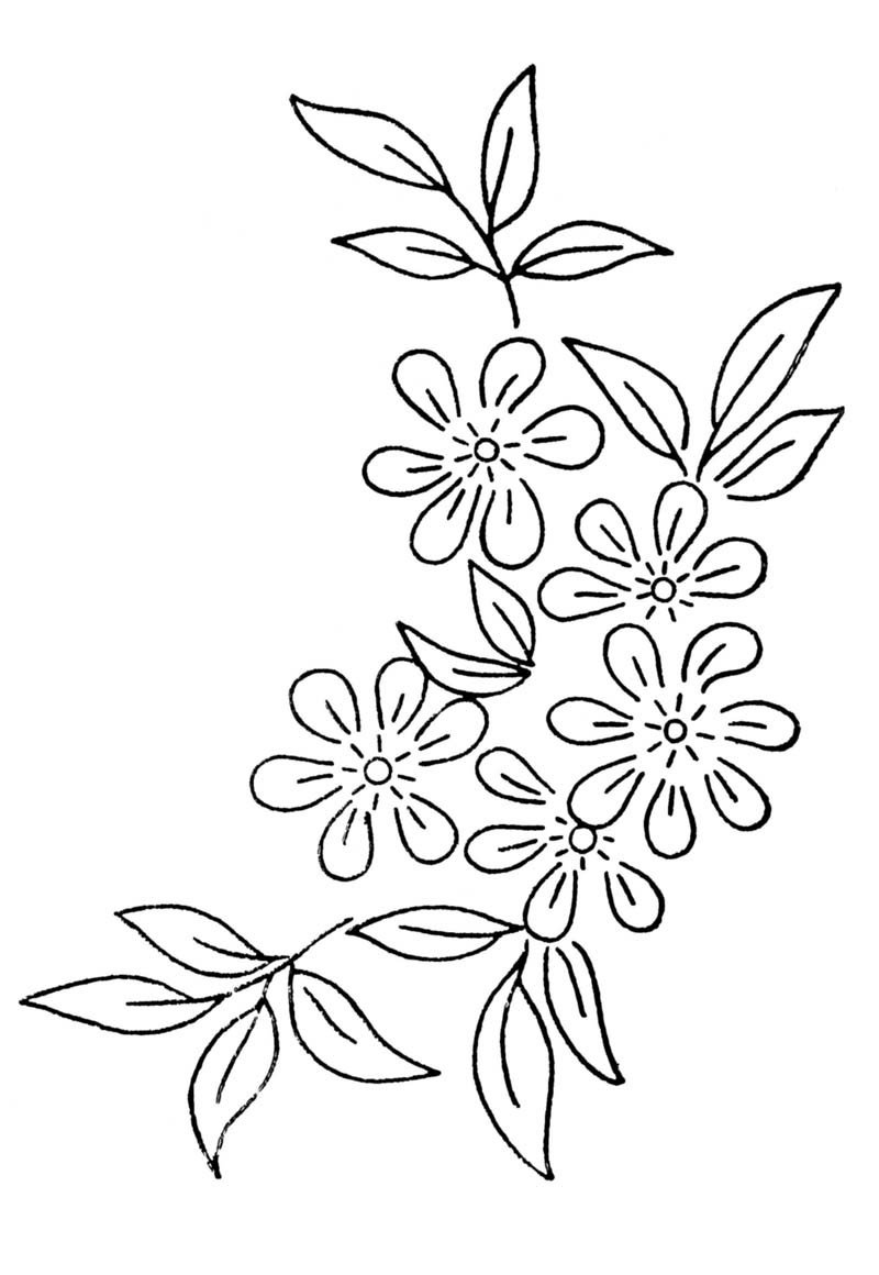 Flower Patterns to Trace Flower Drawing Pattern at Getdrawings