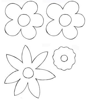 Flower Patterns to Trace Flower Patterns for Tracing – Lena Patterns