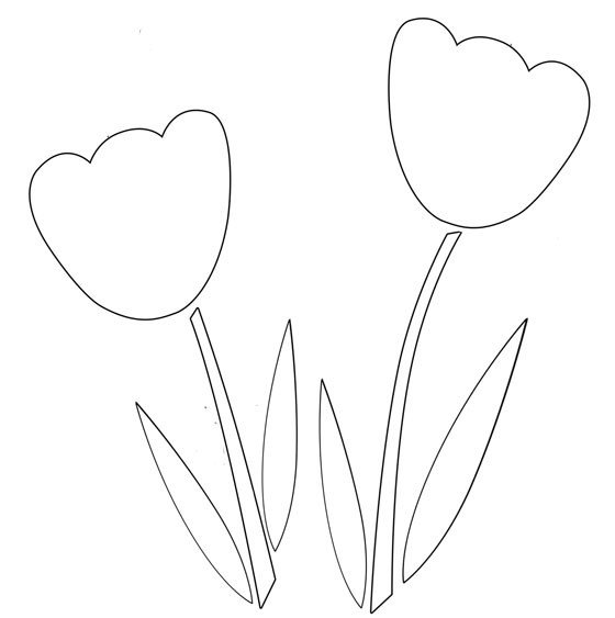 Flower Patterns to Trace How to Applique with Fusible Web