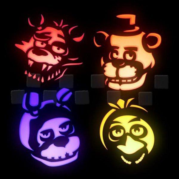 Fnaf Foxy Pumpkin Stencil 71 Best Pumpkin Stencils Images On Pinterest
