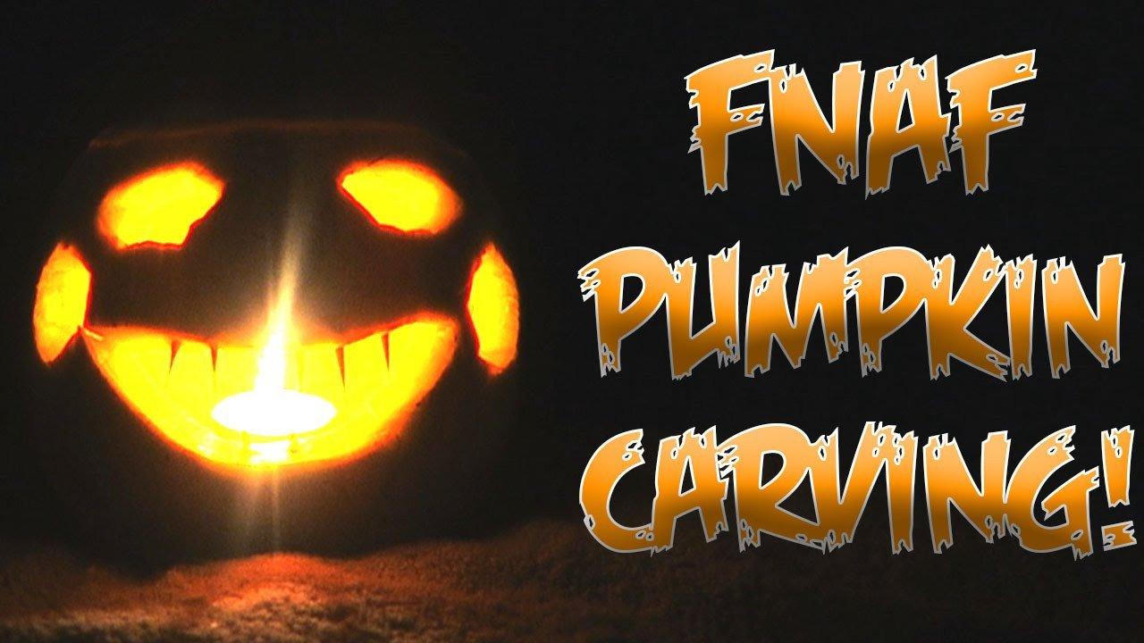 Fnaf Foxy Pumpkin Stencil Five Nights at Freddy S Pumpkin Carving