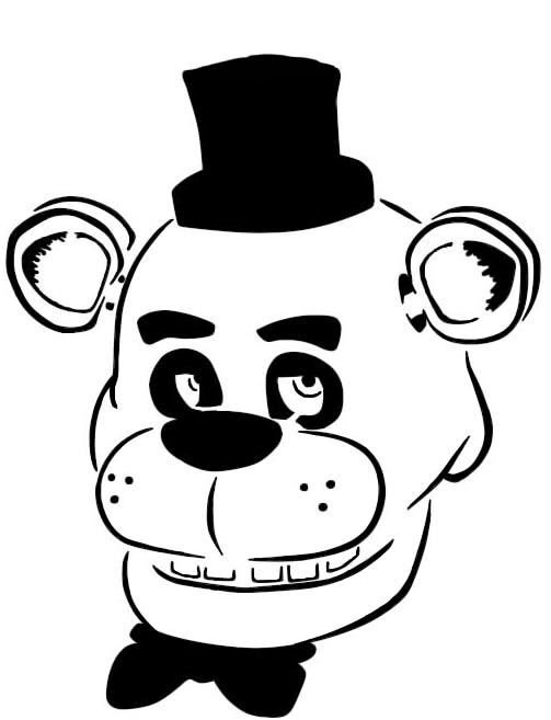 Fnaf Foxy Pumpkin Stencil Five Nights at Freddy S Silhouette Google Search