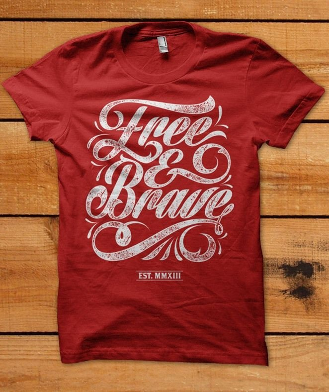 Fonts for T Shirts 25 Awesome T Shirt Designs