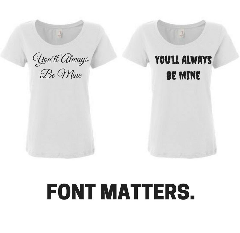 Fonts for T Shirts How to Choose the Best Fonts for T Shirt Designs with Font