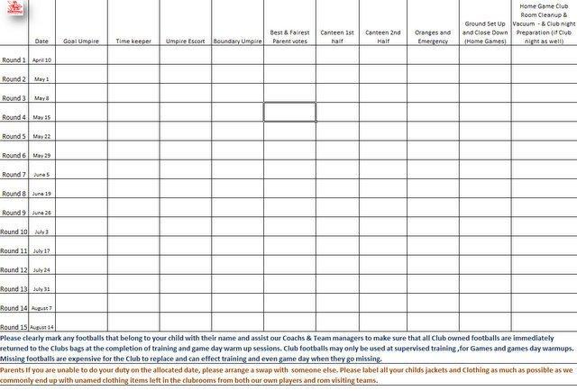 Football Depth Chart Templates Football Depth Chart Template