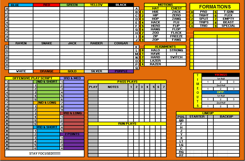 Football Play Call Sheet Template Index Of Cdn 3 2005 813