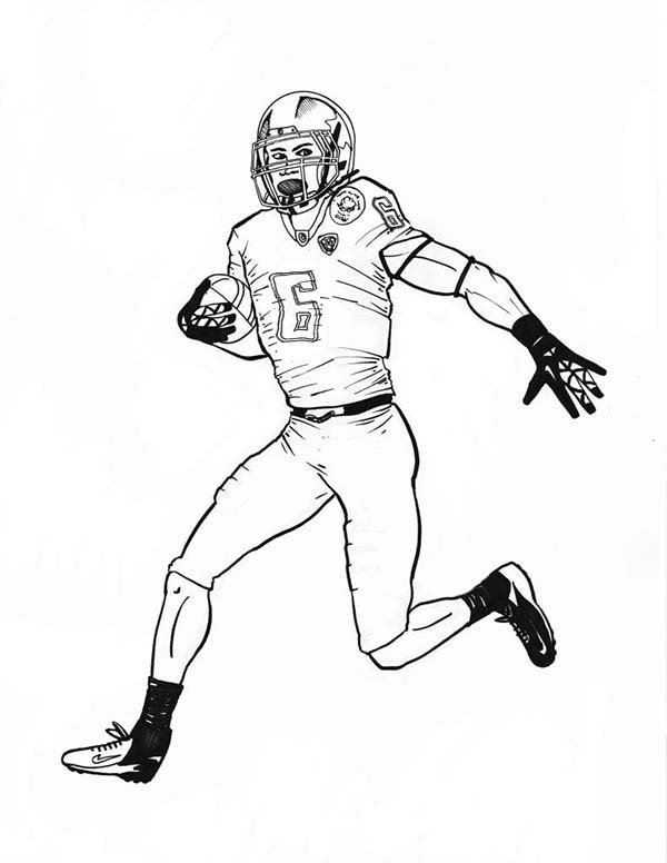 Football Player Template Printable Calvin Johnson Football Coloring Pages Coloring Pages