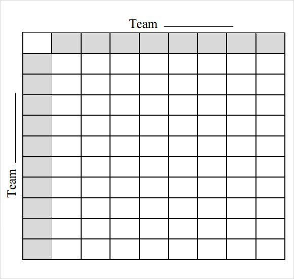 Football Pool Grid Template Sample Football Pool 7 Documents In Pdf Word Excel
