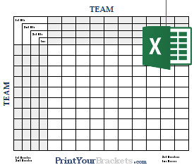 Football Squares Template Excel Excel Spreadsheet Football Square Grids