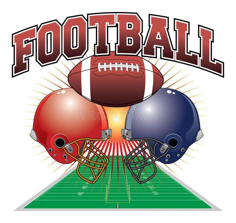 Football Yard Sign Template Football Design Stock Vector Image Of Yard Recreation