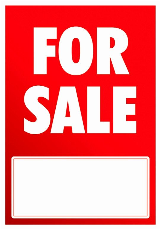 For Sale Sign Template 9 Printable Car for Sale Sign Template Aytey