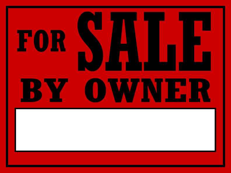 For Sale Sign Template for Sale by Owner Templates