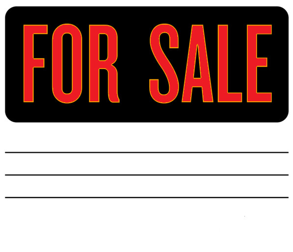 For Sale Sign Template for Sale Sign Clipart Best