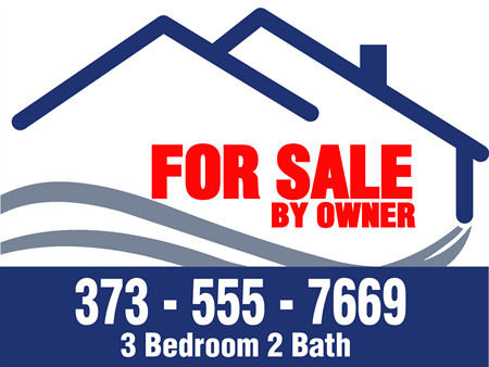 For Sale Sign Template Owner