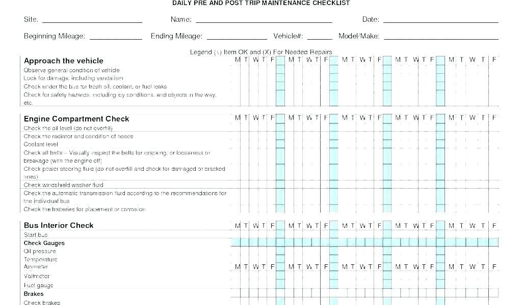 Forklift Inspection form Excel forklift Inspection form Excel – Portalofvaal