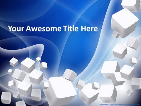 Free 3d Animated Powerpoint Templates Download Free 3d Cubes Powerpoint Template Healthfilecloud