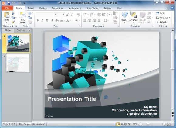Free 3d Animated Powerpoint Templates solve 3d Cube Puzzle Templates for Powerpoint