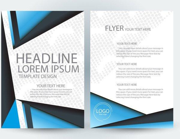 Free Adobe Illustrator Templates Adobe Illustrator Flyer Template Free Vector