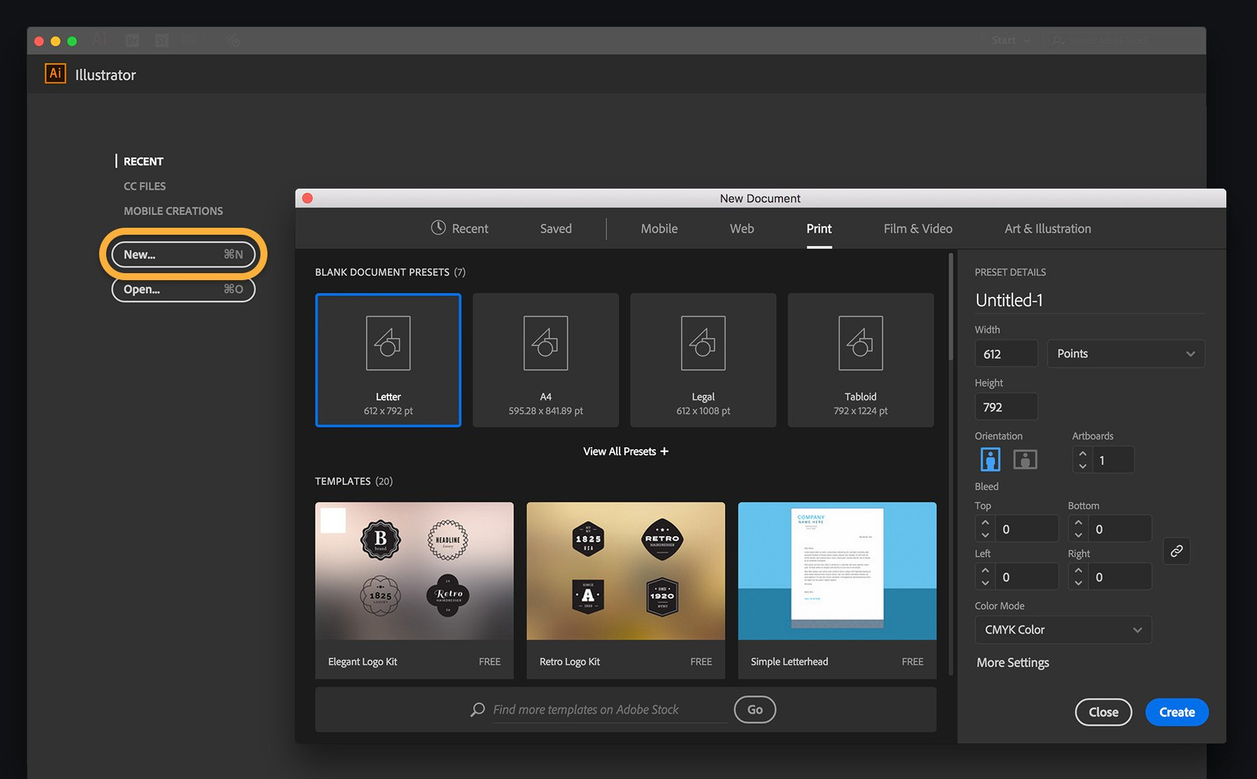 Free Adobe Illustrator Templates Customize An Illustrator Template today