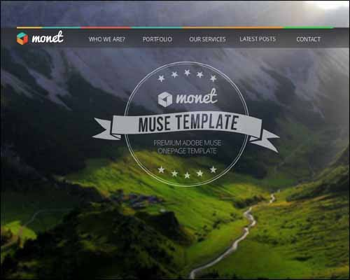 Free Adobe Muse Templates 40 Best Responsive Adobe Muse Templates