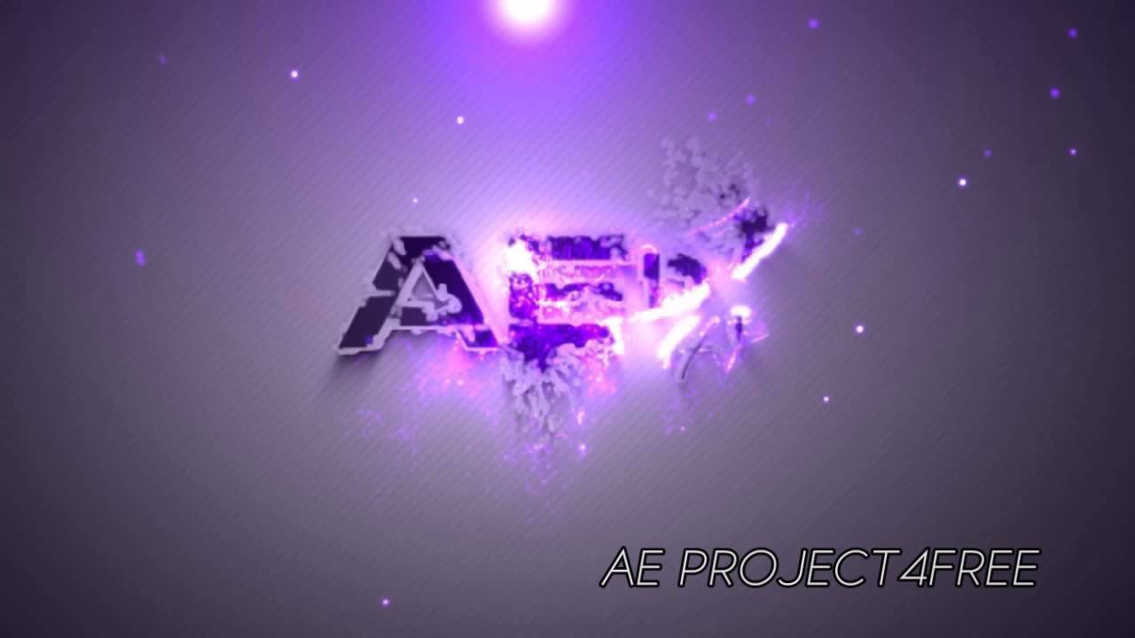 Free after Effects Logo Templates after Effects Project Free Particles House Logo