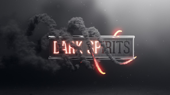 Free after Effects Logo Templates Dark Spirits by Divided We Fall