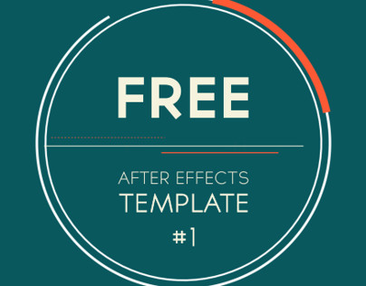 Free after Effects Logo Templates Free after Effects Template 2d Logo Introduction On Behance