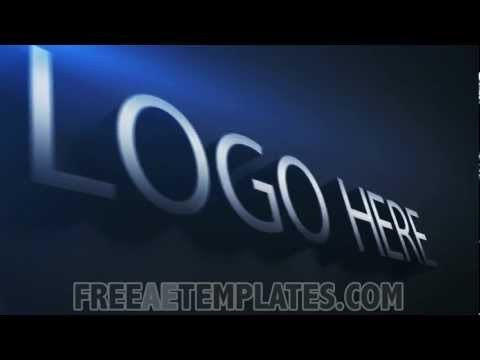 "Free after Effects Logo Templates Free Modern after Effects Logo Template ""logo Elegance"