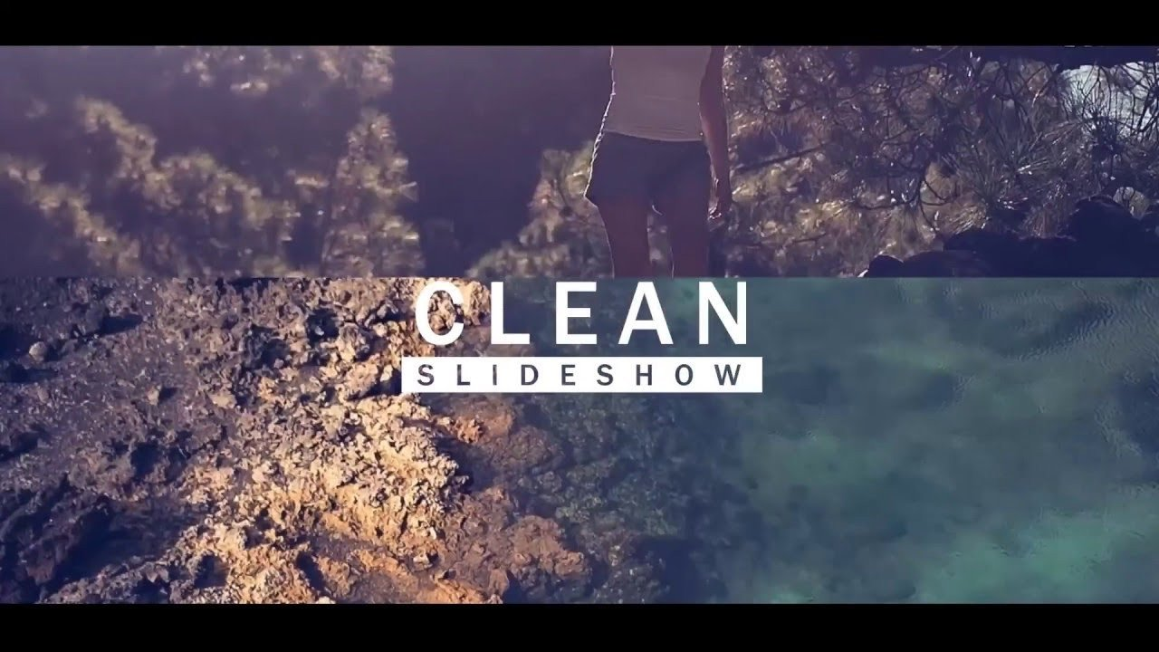Free after Effects Slideshow Template Free after Effects Clean Slideshow Template and Download