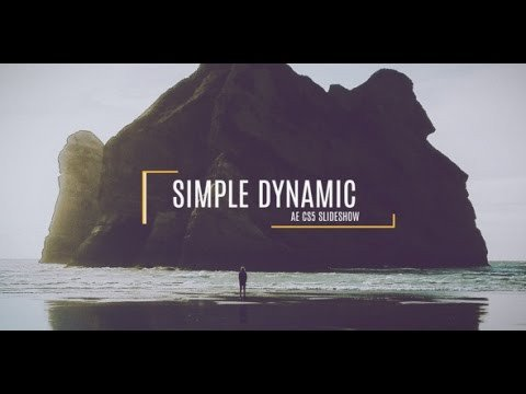 Free after Effects Slideshow Template Free after Effects Cs5 Template Simple Dynamic Slideshow