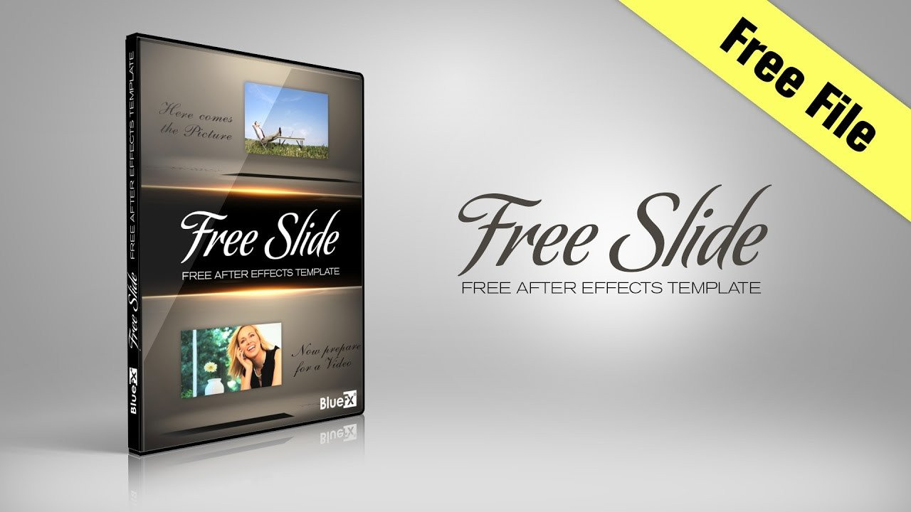 Free after Effects Slideshow Template Free Slide after Effects Template