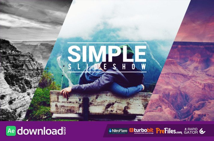 Free after Effects Slideshow Template Simple Fast Slideshow Videohive Free Download Free