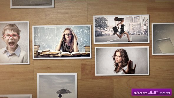 Free after Effects Slideshow Template Videohive My Slideshow after Effects Project