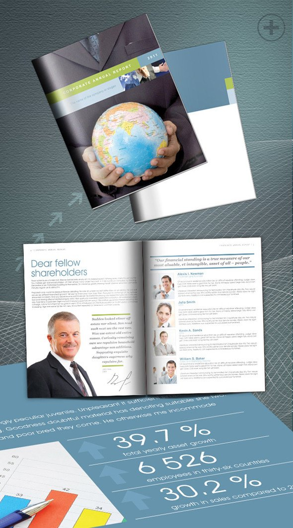 Free Annual Report Template Indesign 10 Beautiful Bestindesign Templates