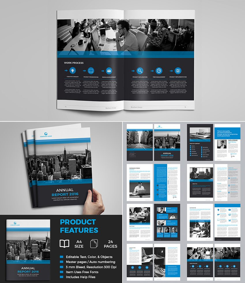 Free Annual Report Template Indesign 15 Annual Report Templates with Awesome Indesign Layouts