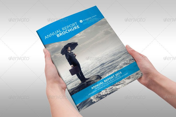 Free Annual Report Template Indesign 15 Corporate Brochure Design Templates