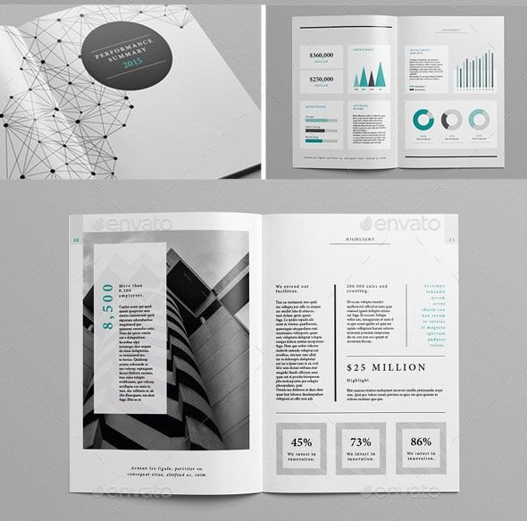 Free Annual Report Template Indesign 20 Best Indesign Annual Report Templates